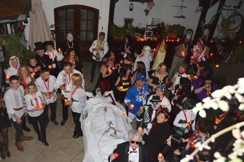 escorted-tours-romania-halloween-party